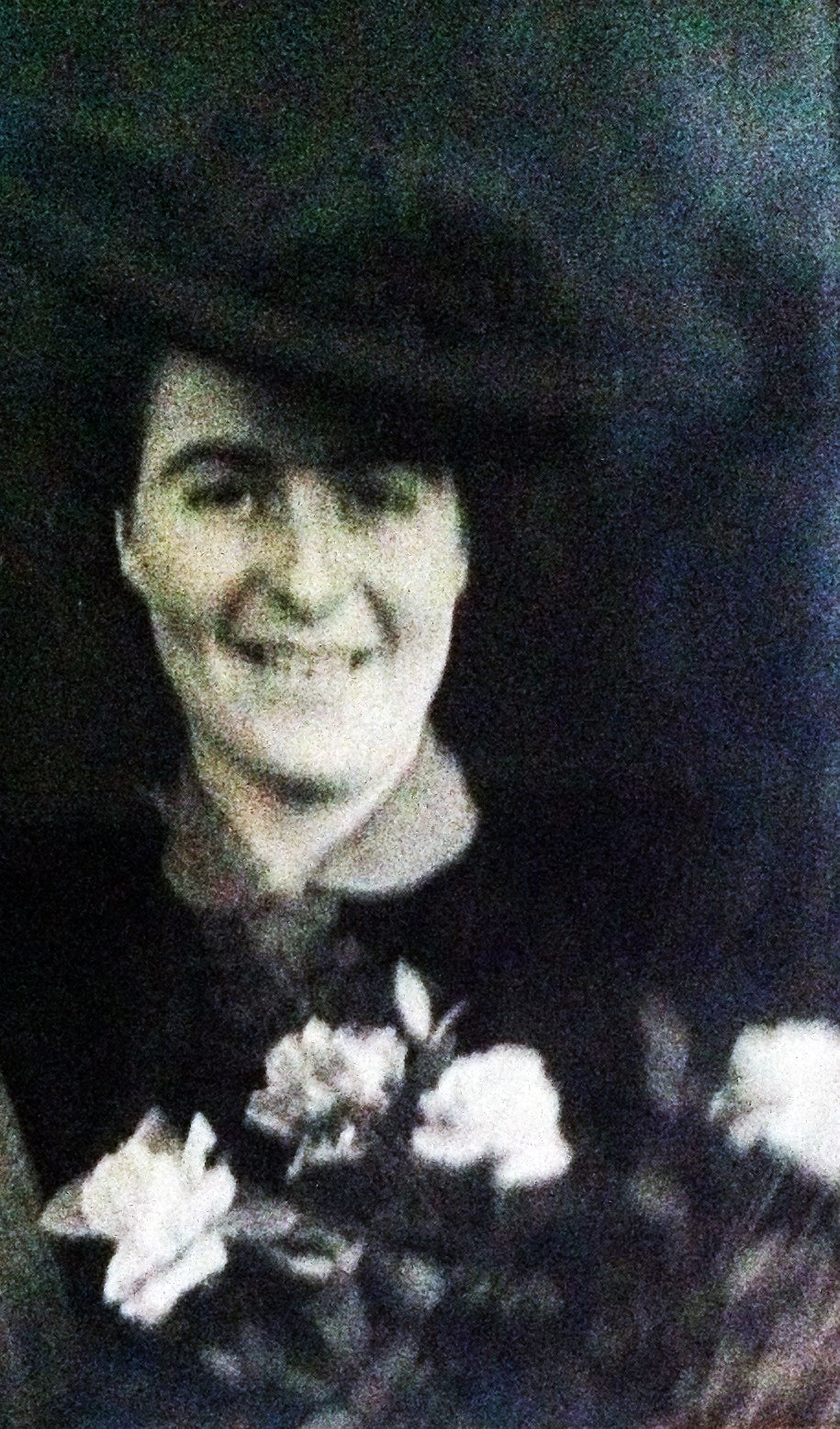 Frank Beresford's wife Muriel Foxall