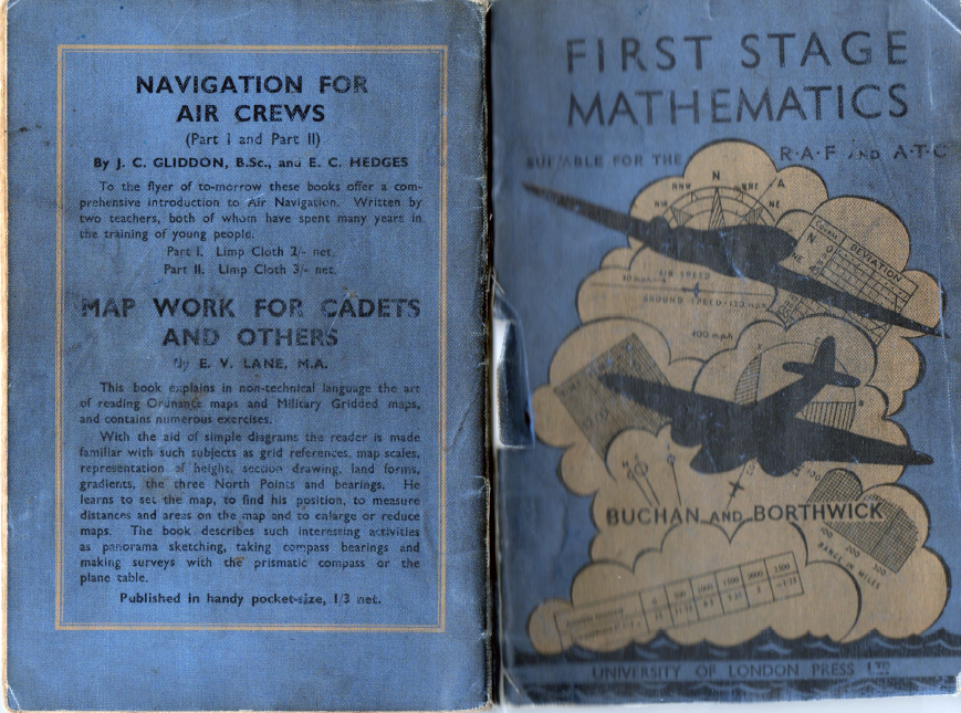 1940s Mathematics Book for RAF Trainees