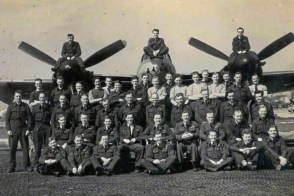 605 Squadron at RAF Manston
