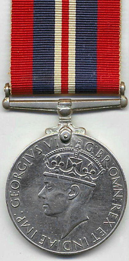 1939-1945 War Medal (obverse side)