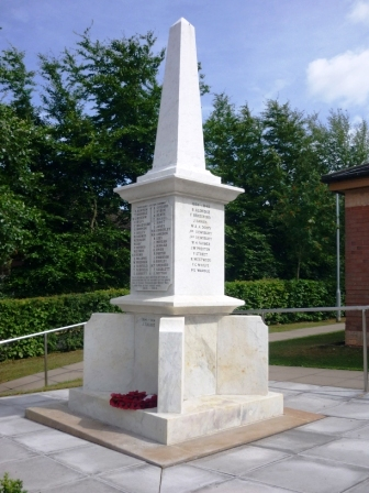 Chase Terrace War Memorial