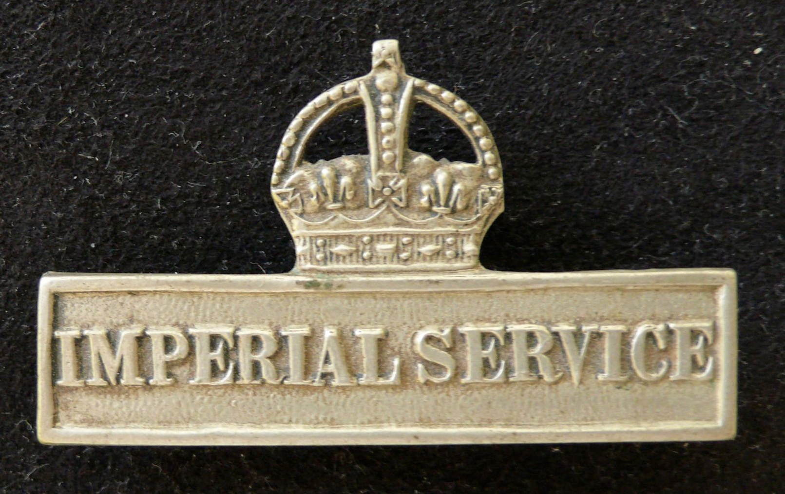 Photograph of the Imperial Service Clasp