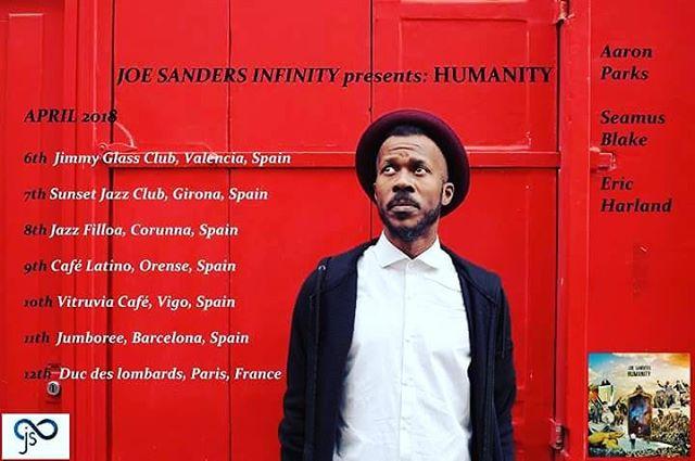 Spain & France. @ericharland @aparksmusic @seamu3 @frednardin75  #jimmyglassclub #sunsetjazzclub #jazzfilloa #cafelatino #vitruviacafe #jumboree #ducdeslombards @ducdeslombards