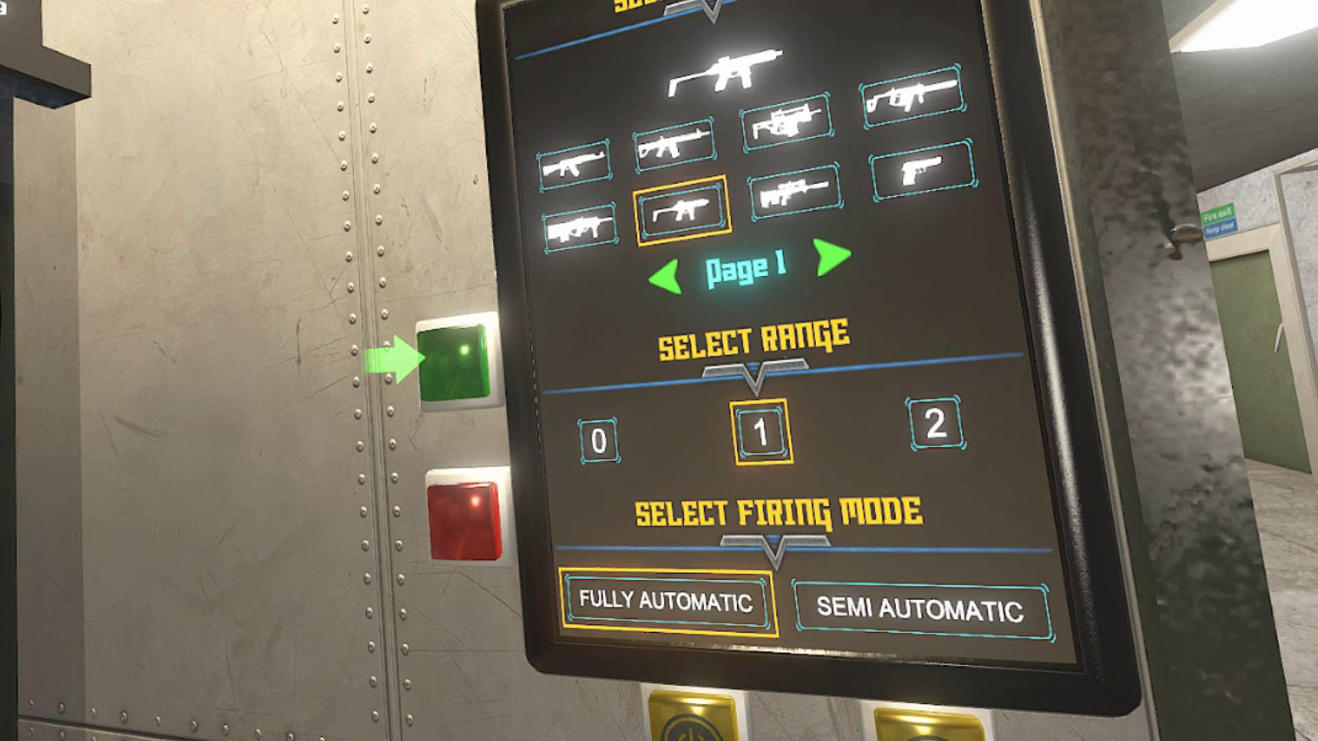 Enhanced Weapon Selection