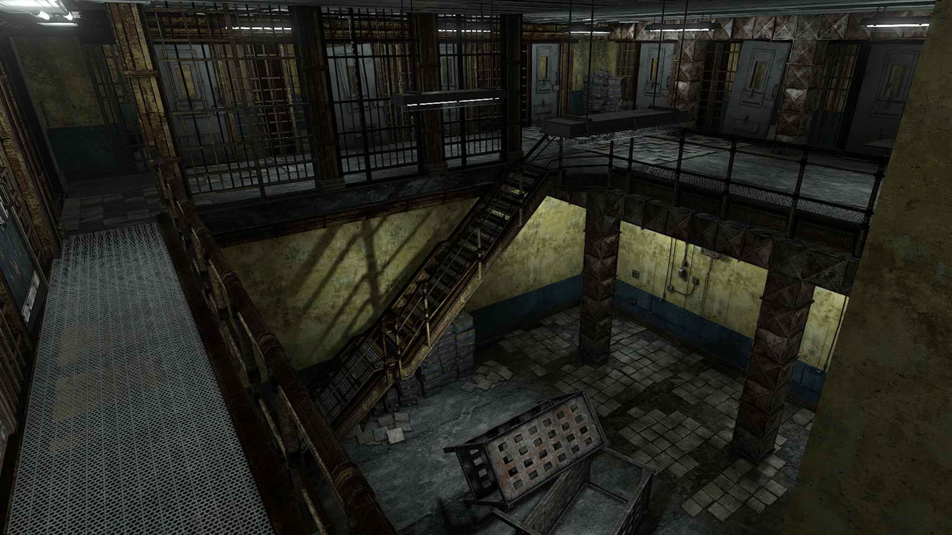 Two Story Prison