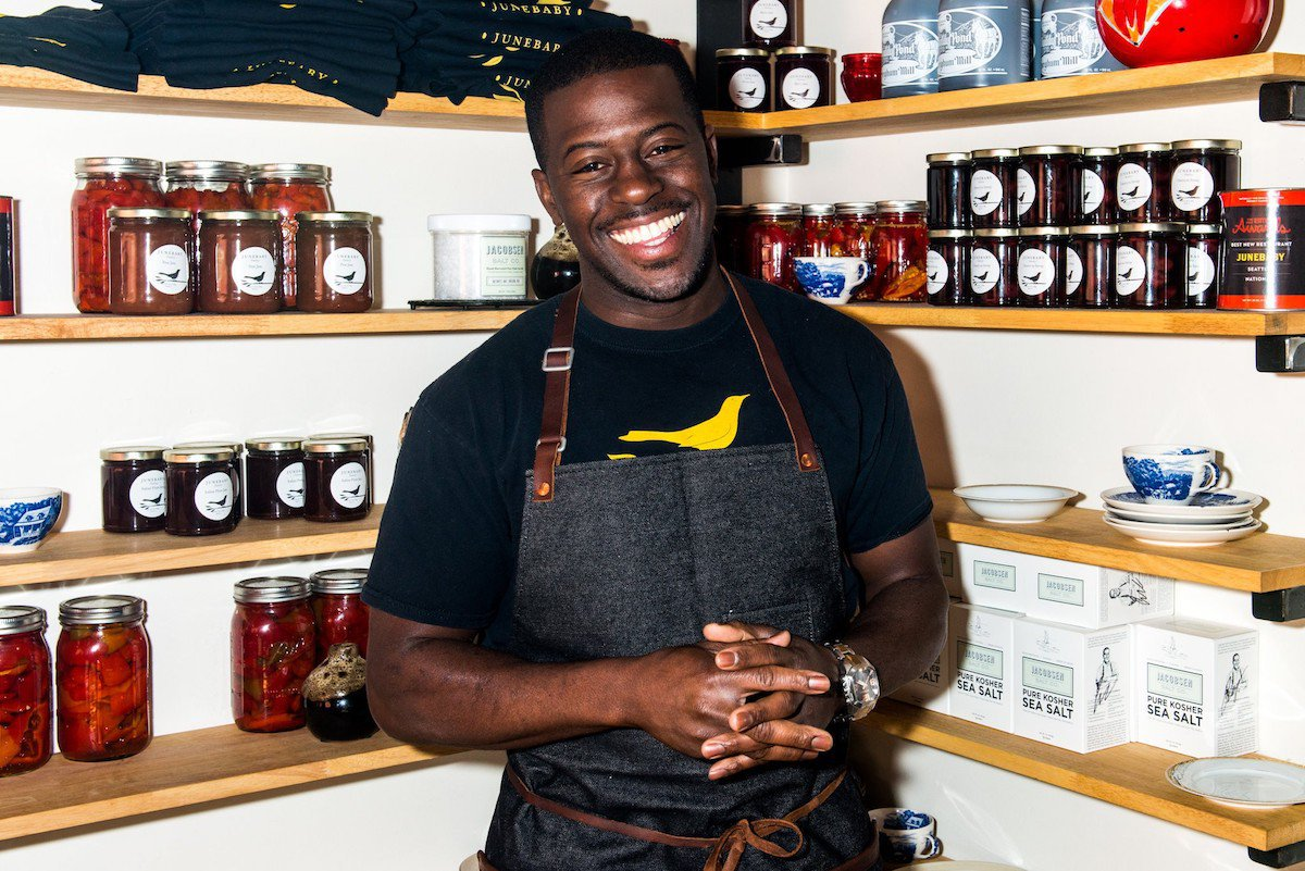 In the States, you get a congratulations for starting a business because we as a society understand the long-term benefits of being an being entrepreneur. - Image: , Edouardo Jordan, Owner of Salare