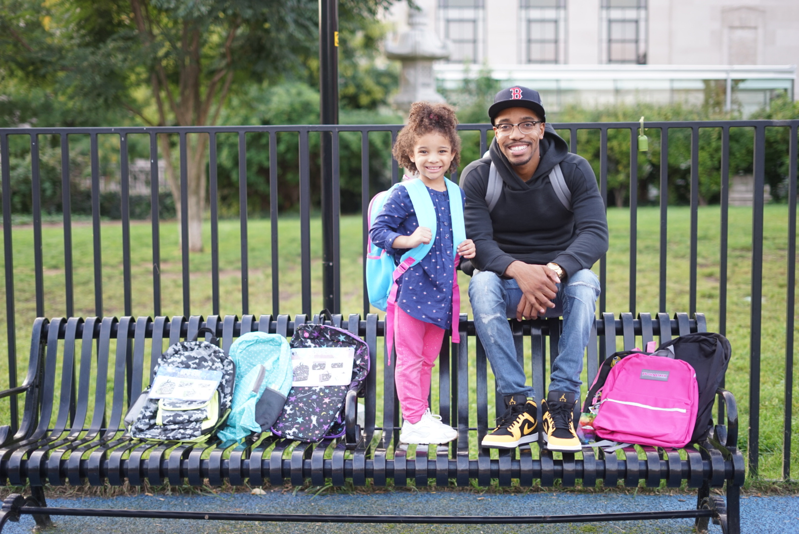 The Milli Blog sat down (and played in the park) with Mia & Matt about The BackPack Marathon and how they plan on touching more lives in their communities… -