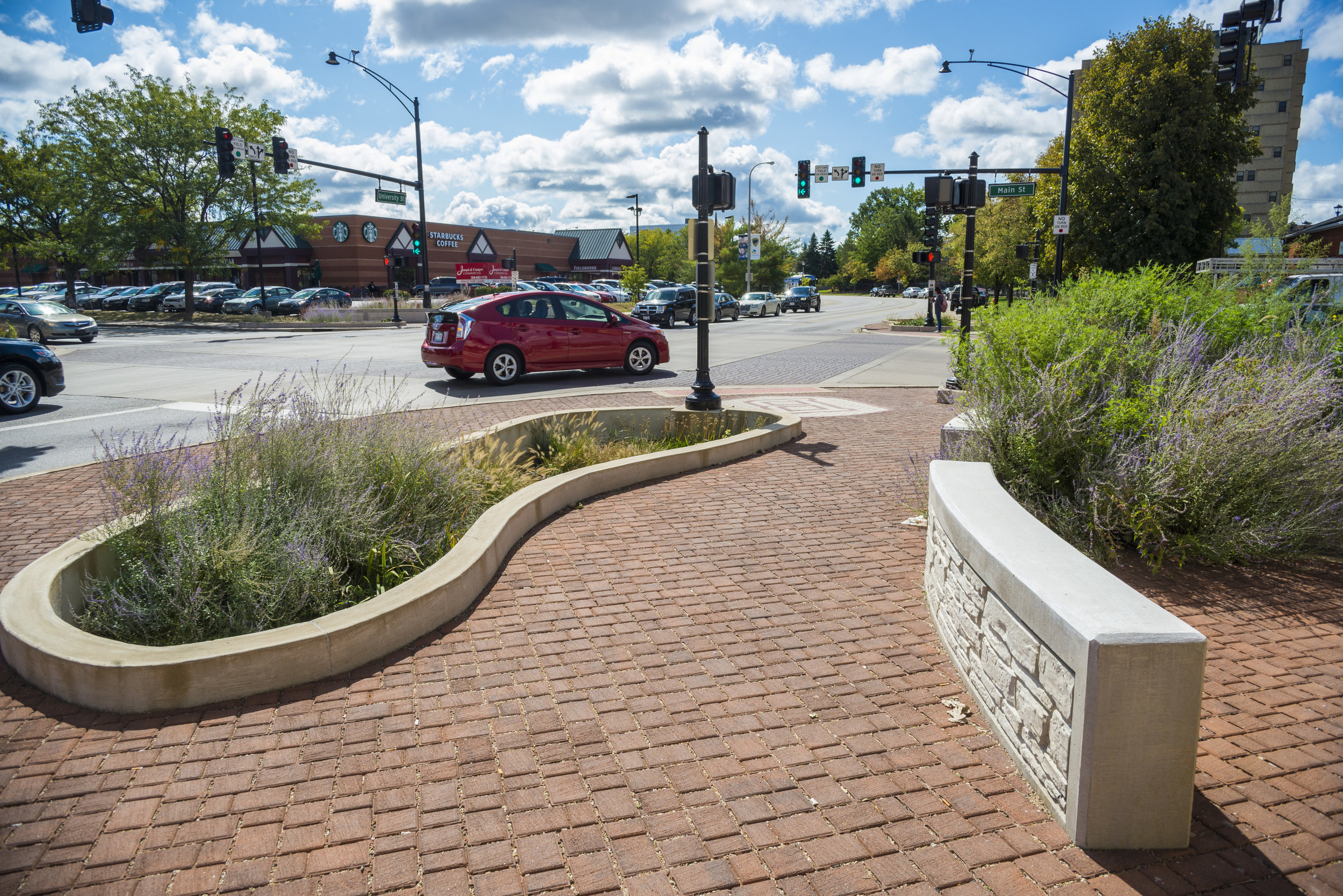 Main & University Intersection Improvements