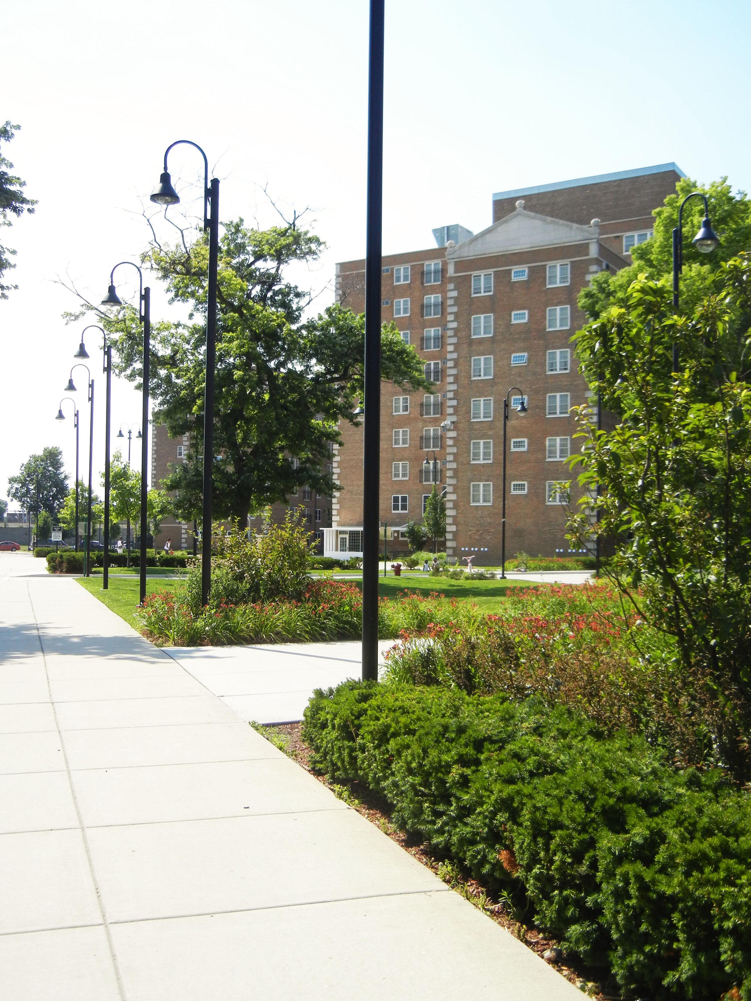 Landscaped Pathway.JPG