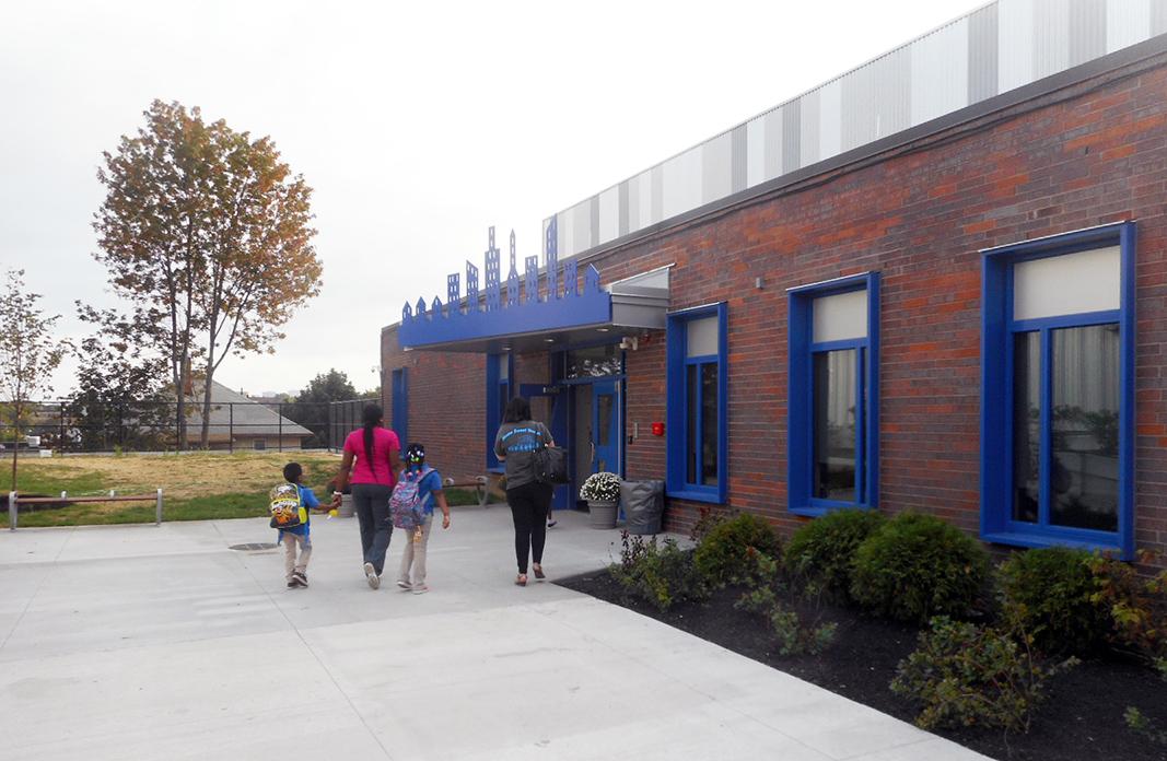02 - Parents and students enter their new Bridge Boston CS school building.jpg
