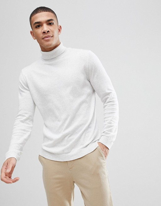 ASOS+Cotton+Roll+Neck+Jumper+In+Pale+Grey+Grey+Mens+Cardigans++8RTEXNXM.jpg