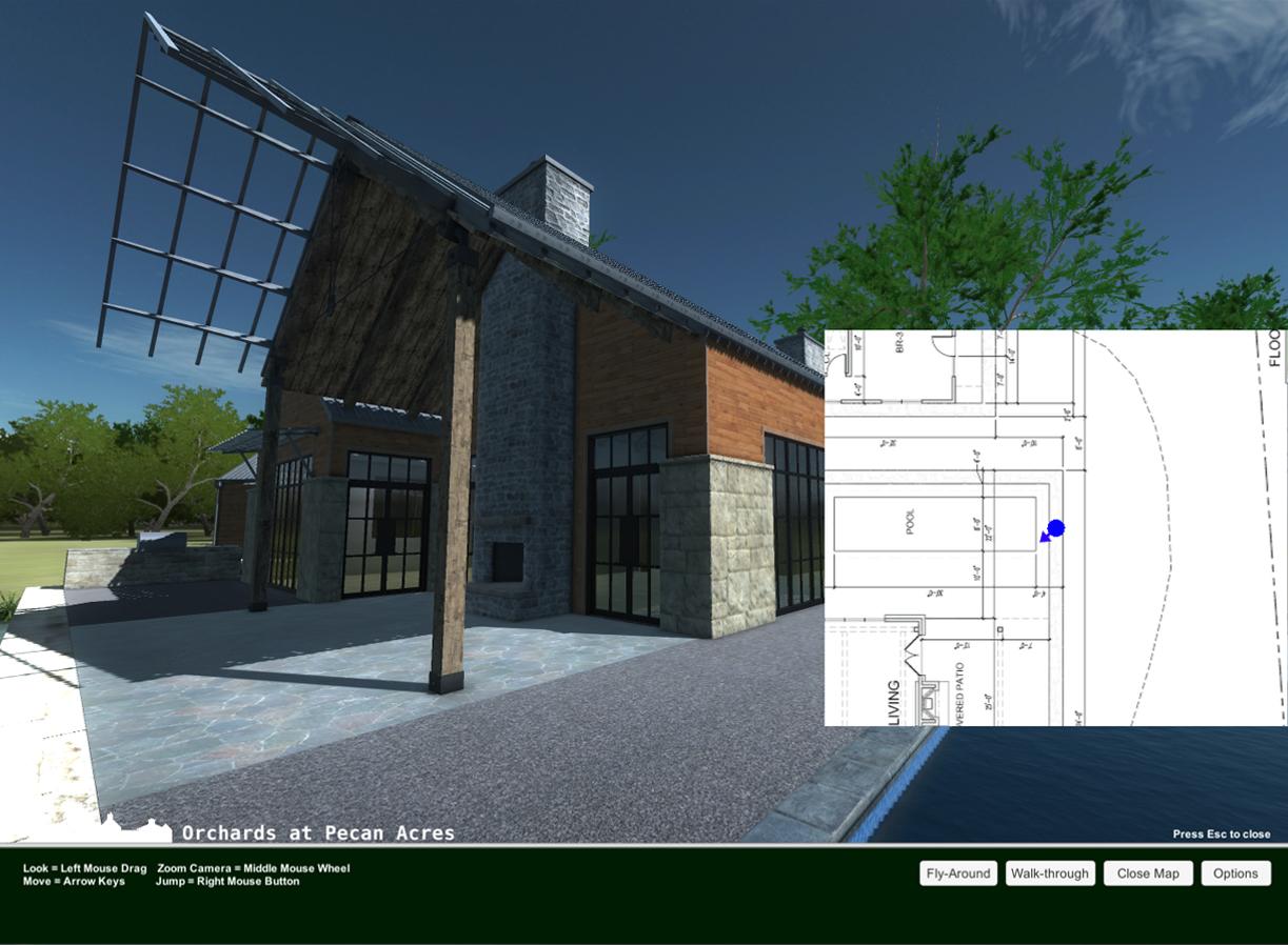 Architectural Walk Through