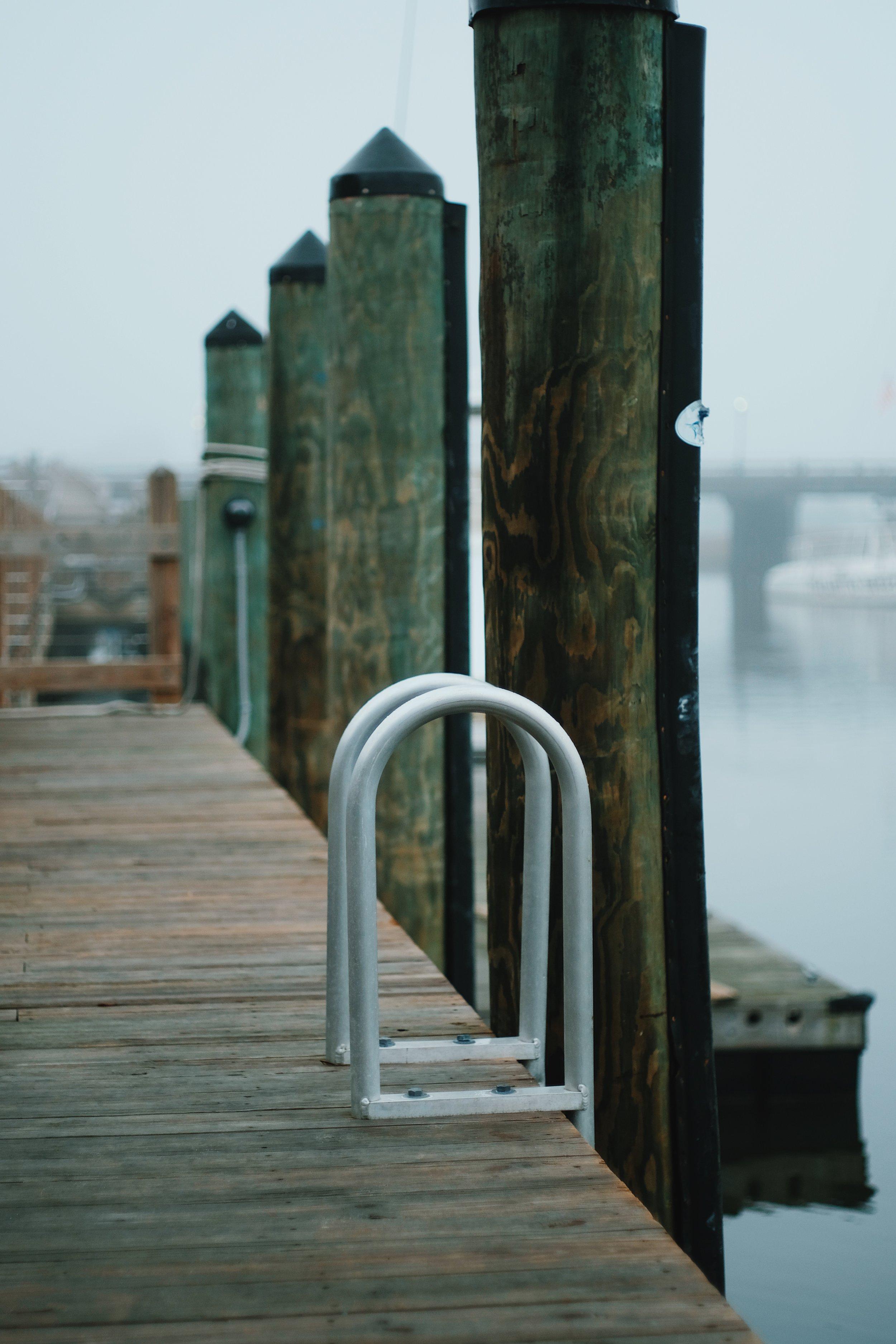 ladder to water shem creek.JPG
