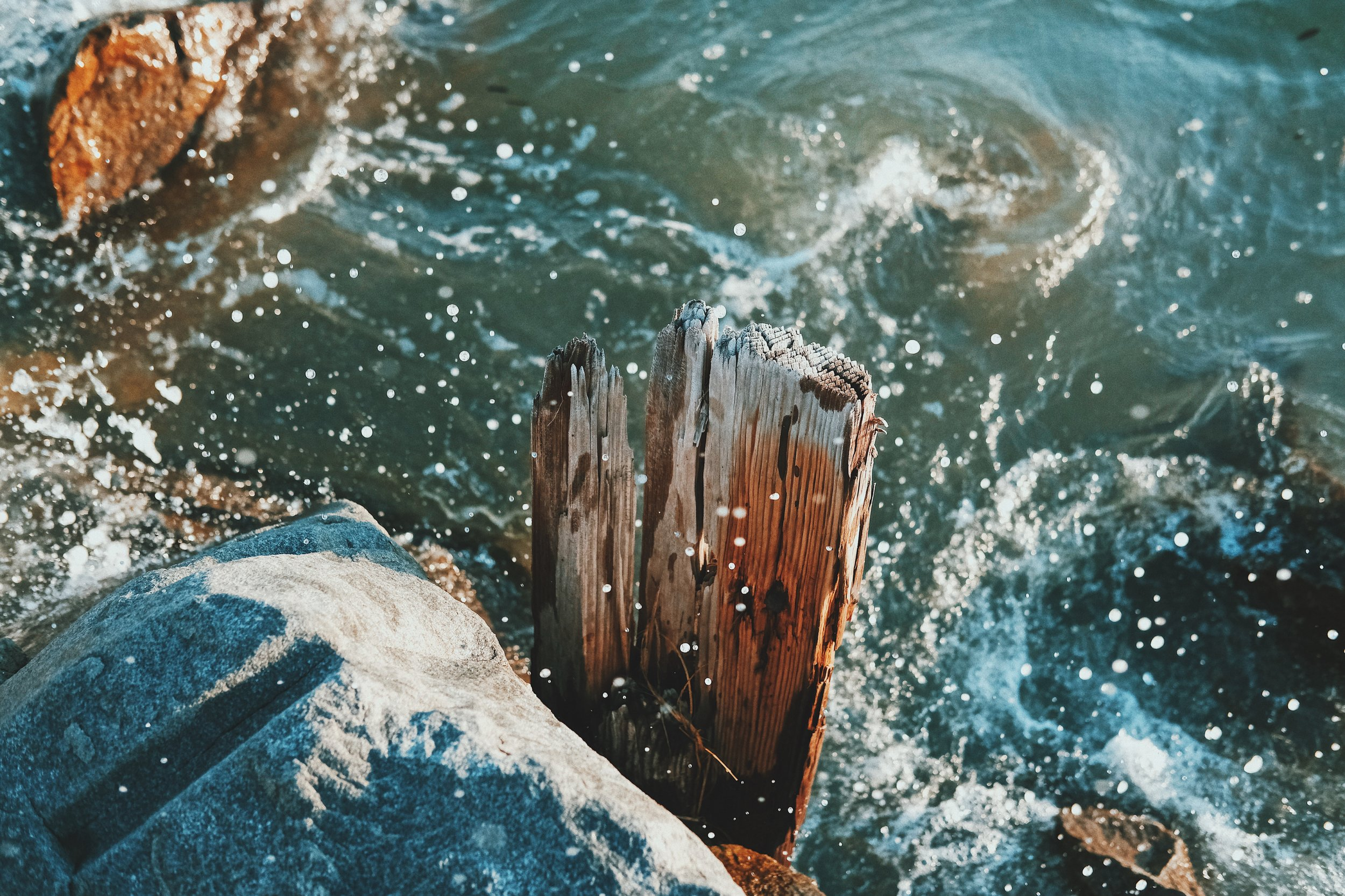 waves and wood plank.JPG