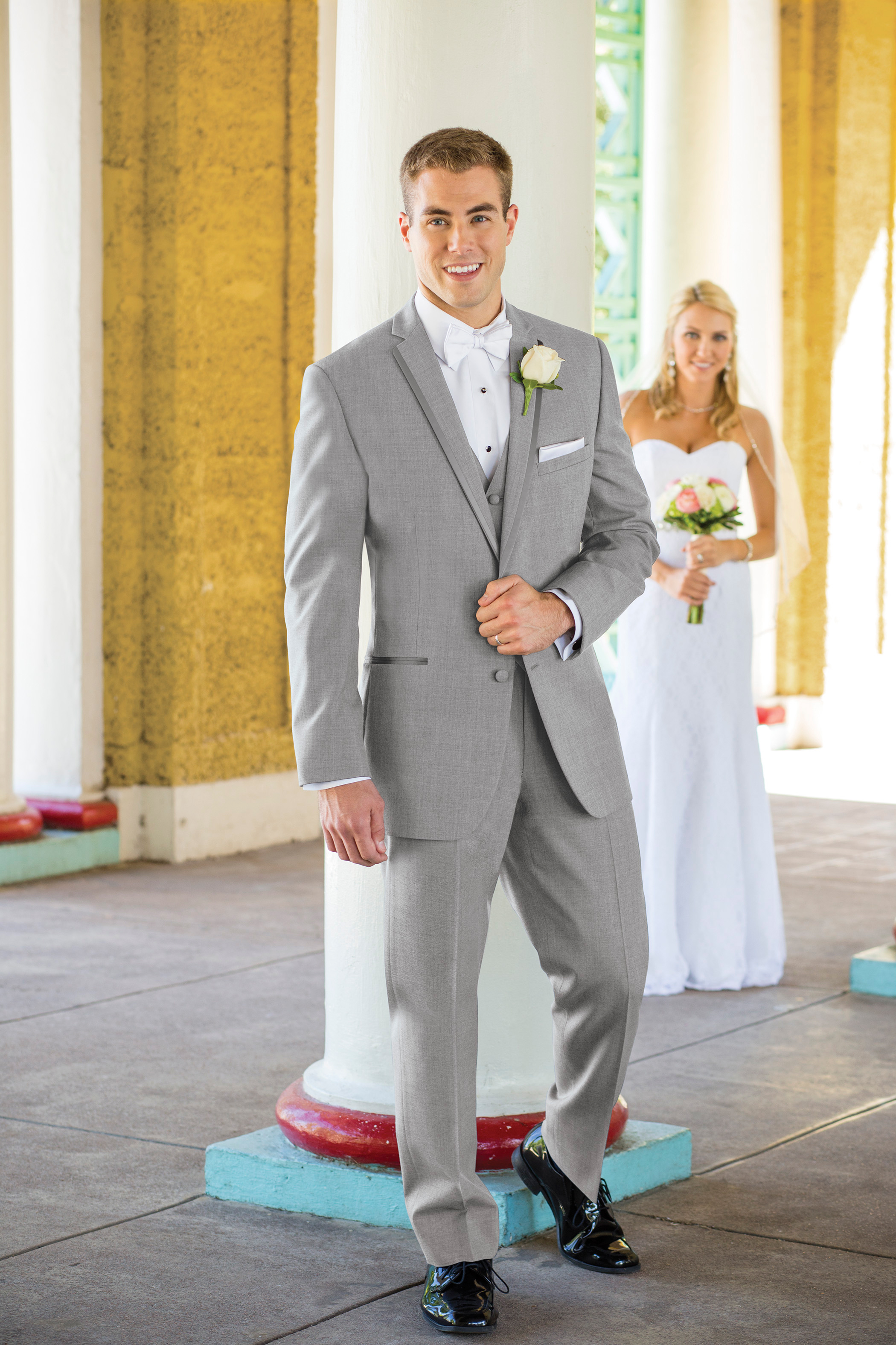 Heather Grey Aspen Tuxedo by Stephen Geoffrey