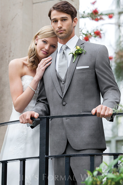 Slim Fit Grey Aspen Tuxedo by Stephen Geoffrey