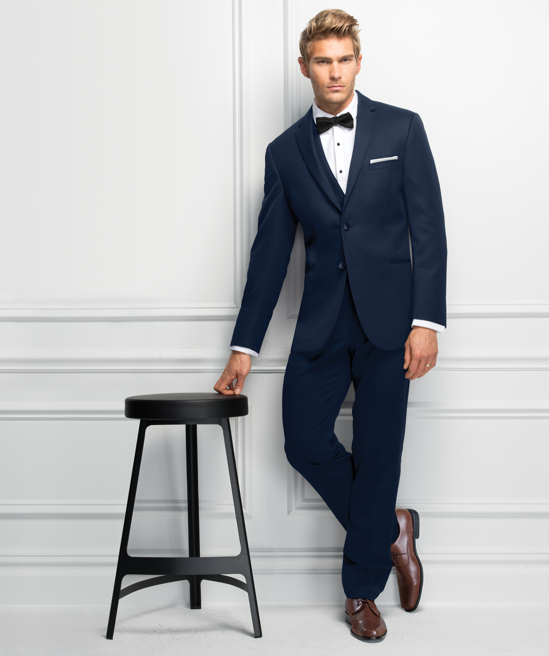 Ultra Slim Navy Sterling Suit by Michael Kors