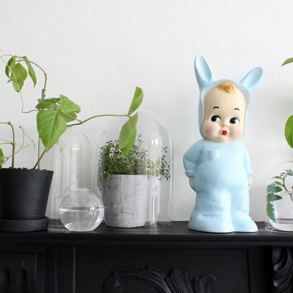 LAPIN LAMP Iconic bunny boy lamp inspired inspired by plastic toys of the 1940's from UK firm Lapin & Me.