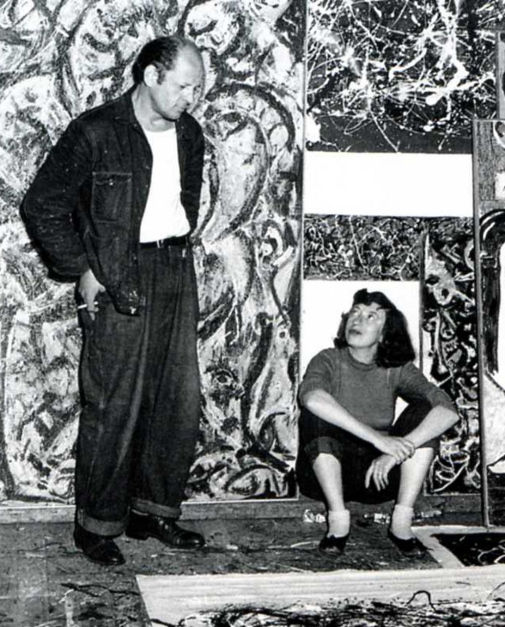 POLLOK-KRASNER HOUSE & STUDIO Visit the studio in Springs were Jackson Pollock and Lee Krasner lived, worked & created master pieces. Open Thursday - Saturday 1-pm.  More info here.