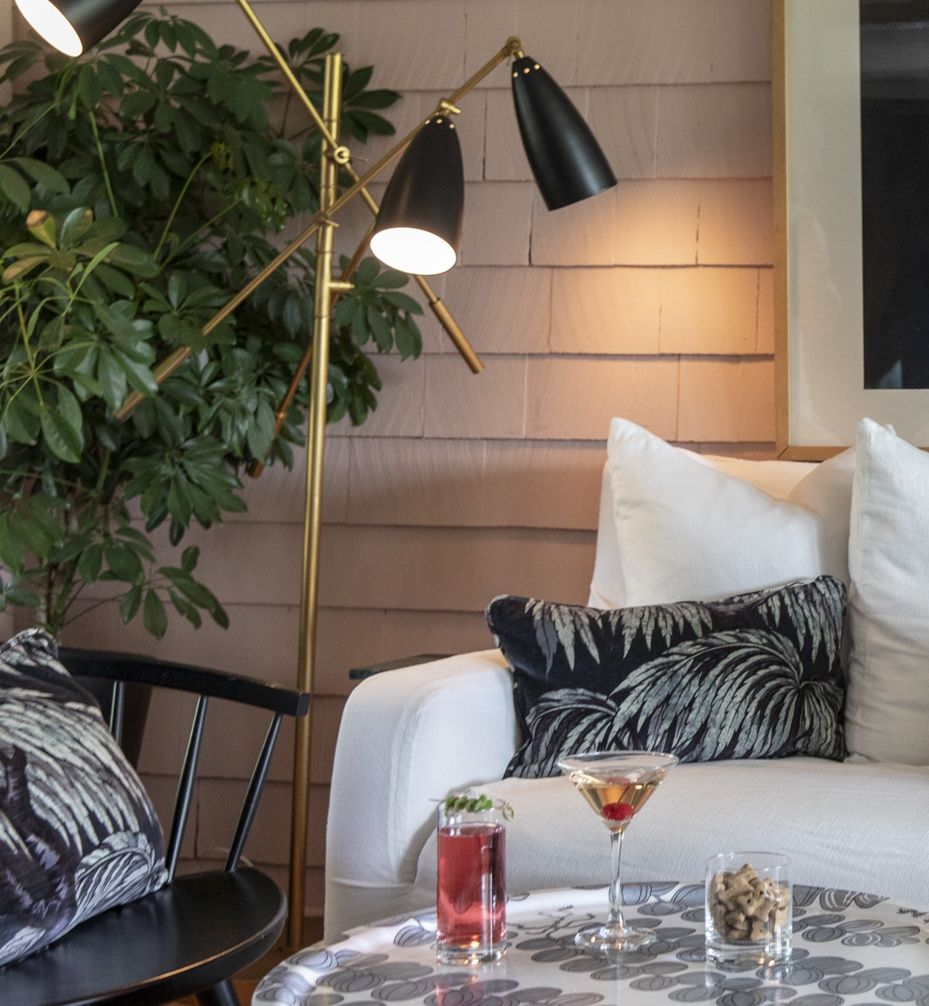 HOUSE OF HACKNEY We of course love British design house, House of Hackney as they are famous for their bold modern prints. We have infused as many Palmeral cushions as we could fit into our public areas.