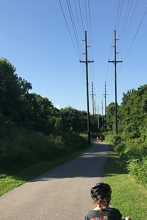 Greenway trail - area of the wreck