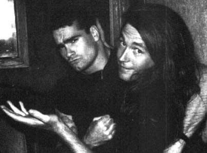 Henry Rollins and Joe Cole