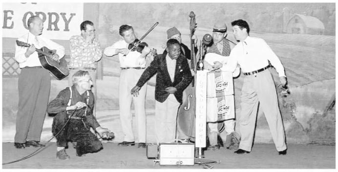 Bobby Hebb, Roy Acuff, and the Smokey Mountain Boys