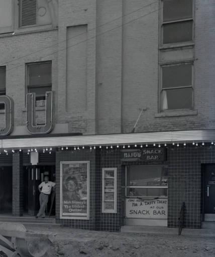Bijou Theater under construction