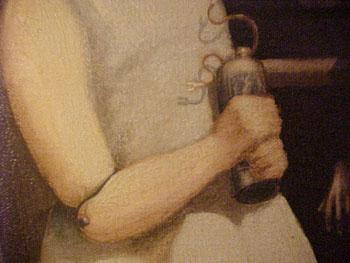 The Hands Resist Him closeup
