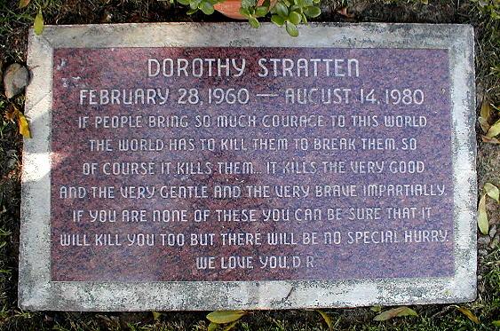 Dorothy Stratten's grave