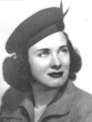 Louise Davis Shumate in 1948