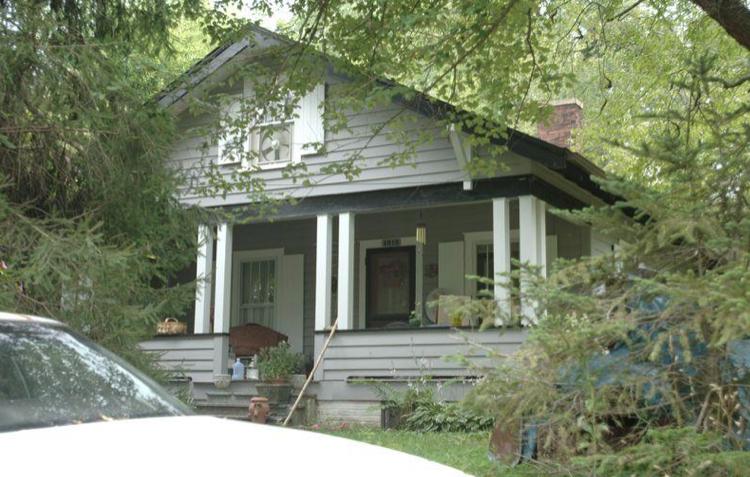Saxmann family home on Maple Street
