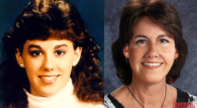 Leanne Green high school & age progressed photo