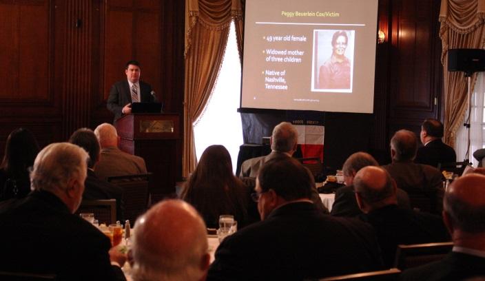 Detective Darren Barnes' presentation before the Vidocq Society