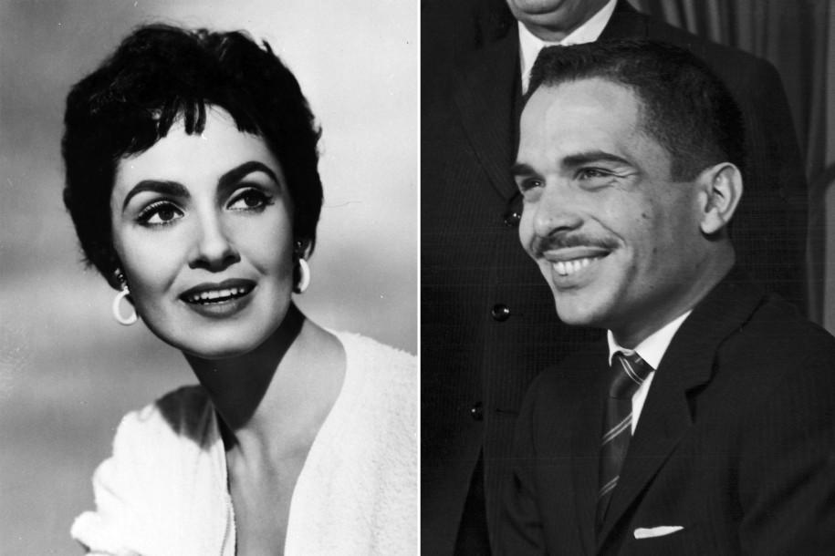 Susan Cabot & King Hussein