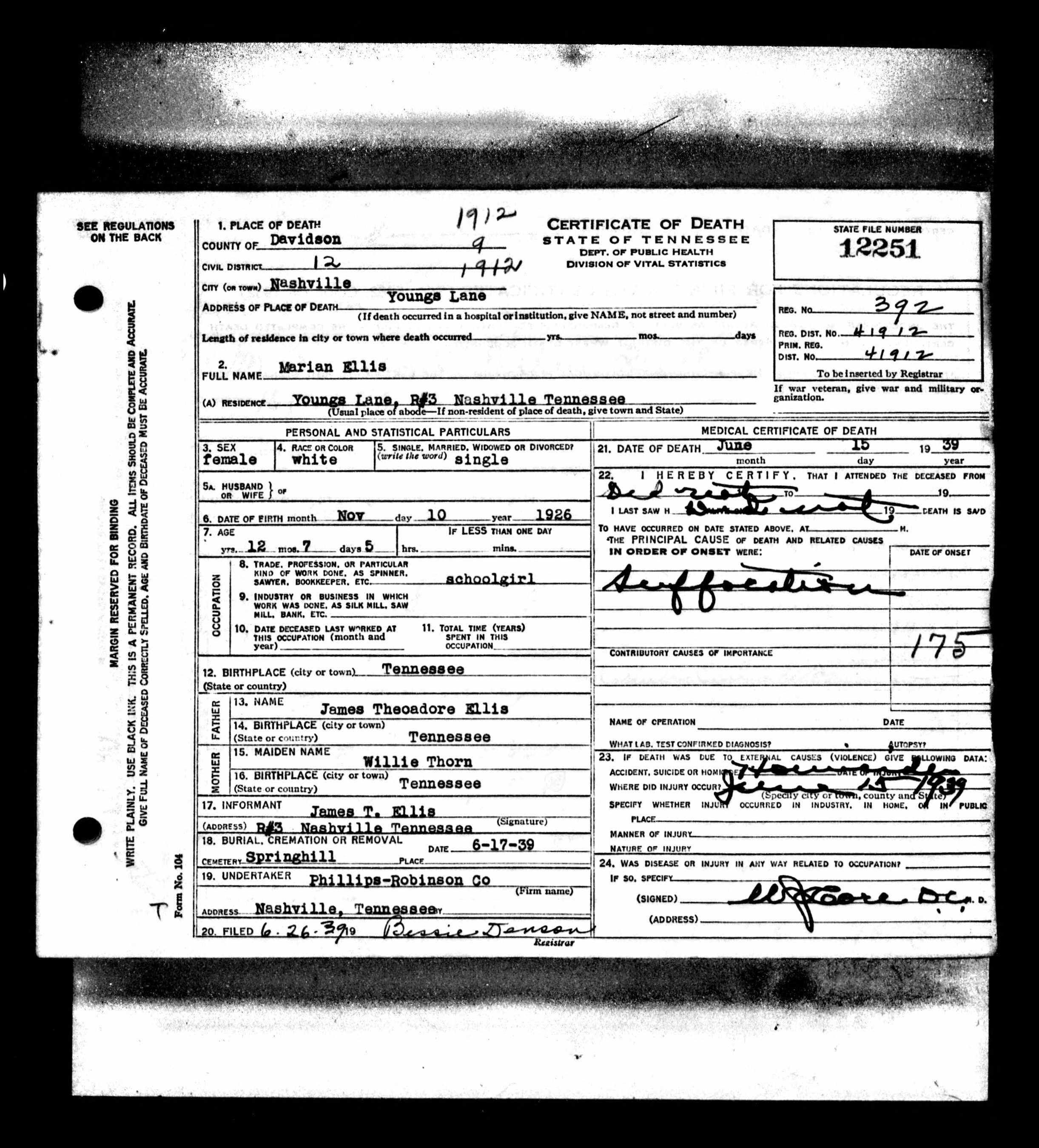 Marian Ellis death certificate.jpg
