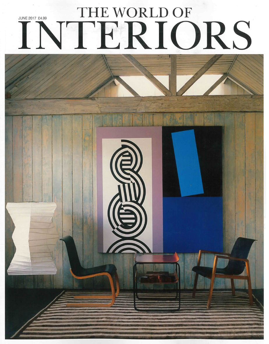 JUNE 2017 WORLD OF INTERIORS