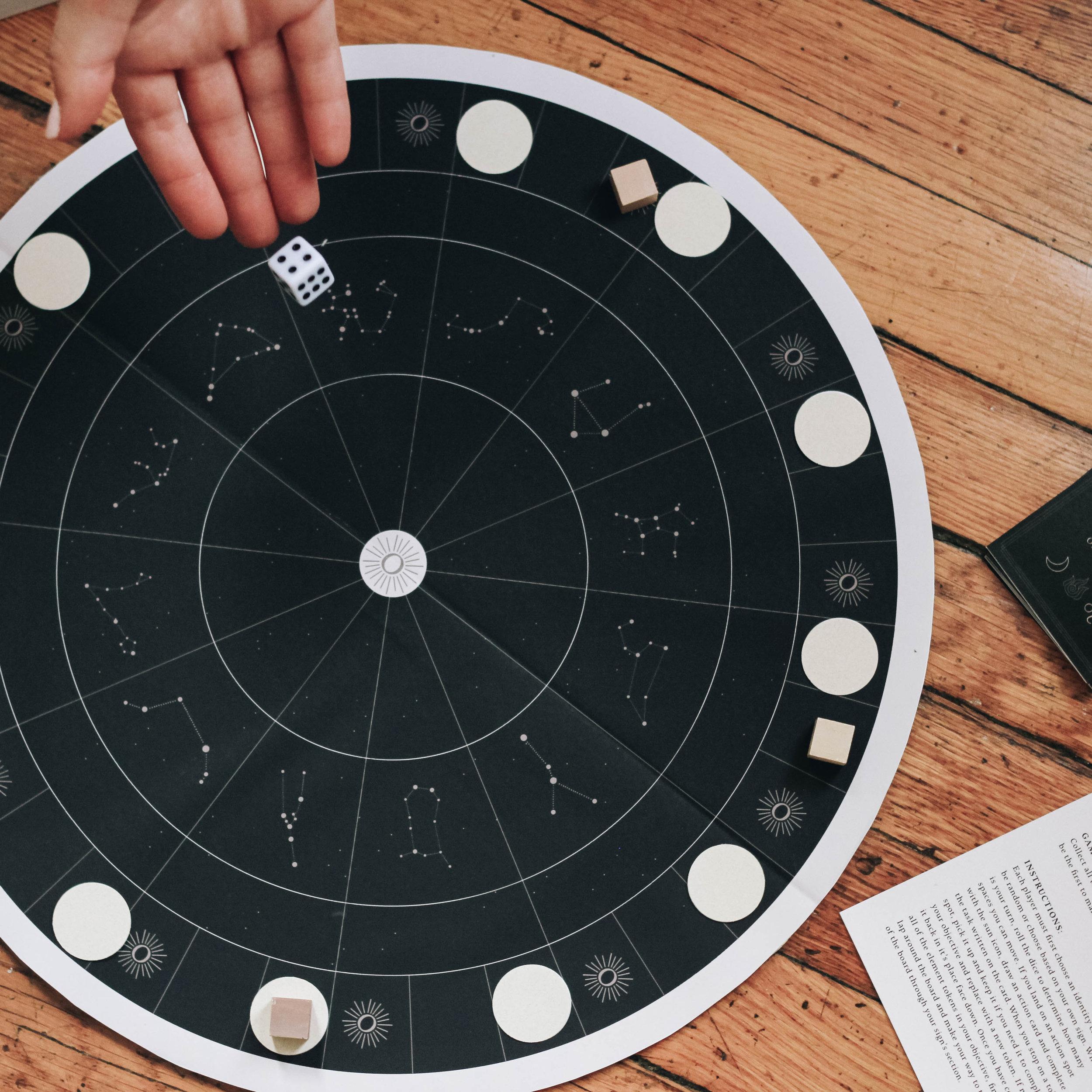Retrograde Board Game
