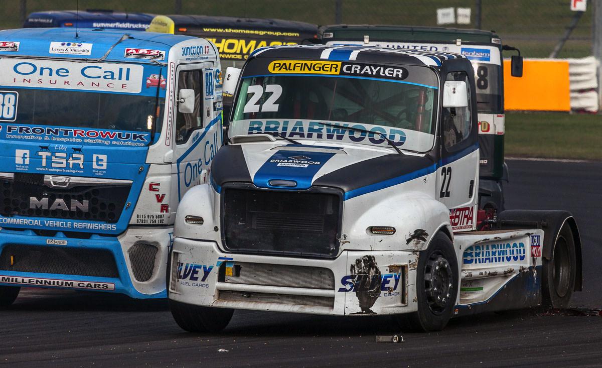 How Close!! | British Truck Racing Silverstone 2015