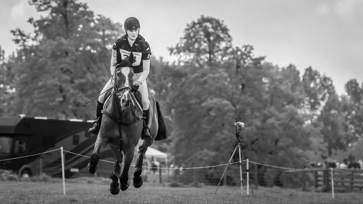 Rider at the Rockingham Horse Trials 2019
