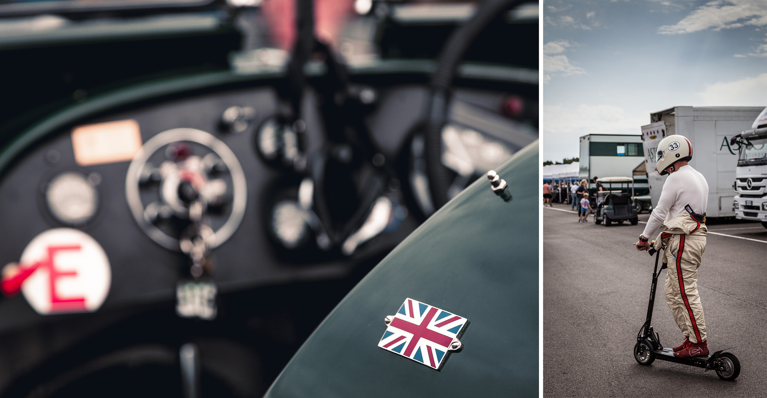 Silverstone Classic 2019 - Union Jack and Safety First!