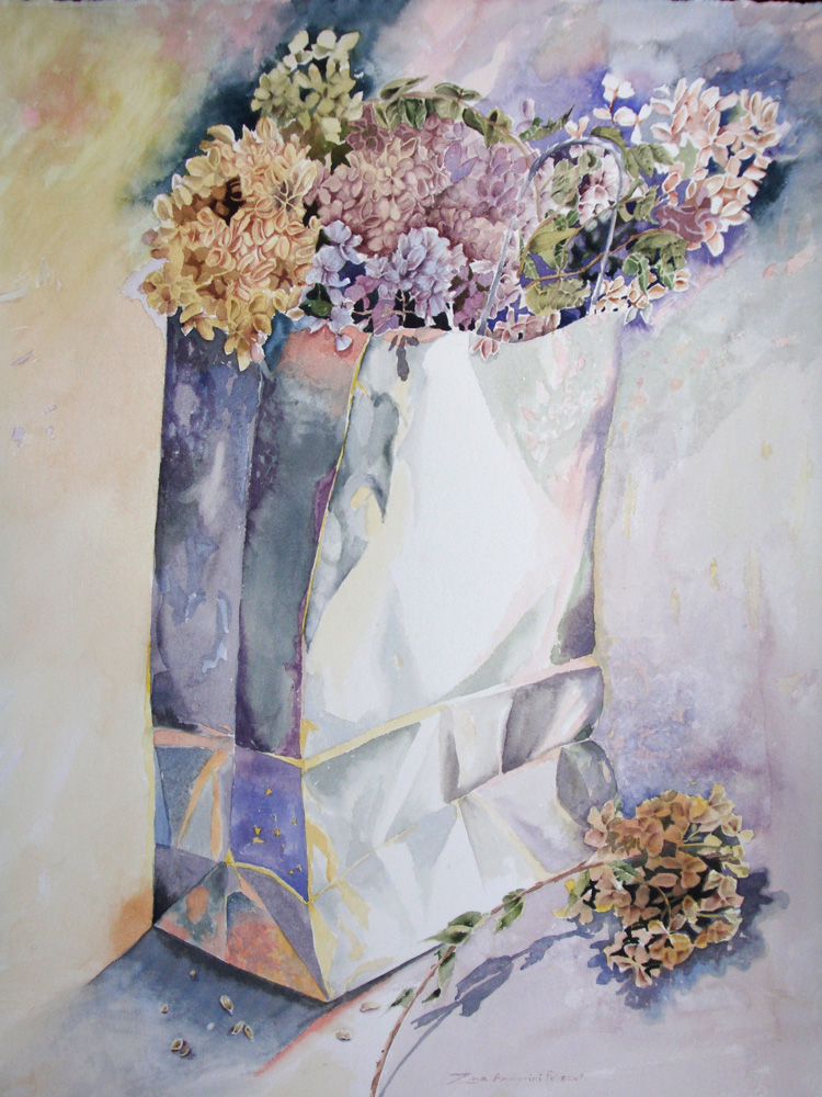 Bag of Hydrangias