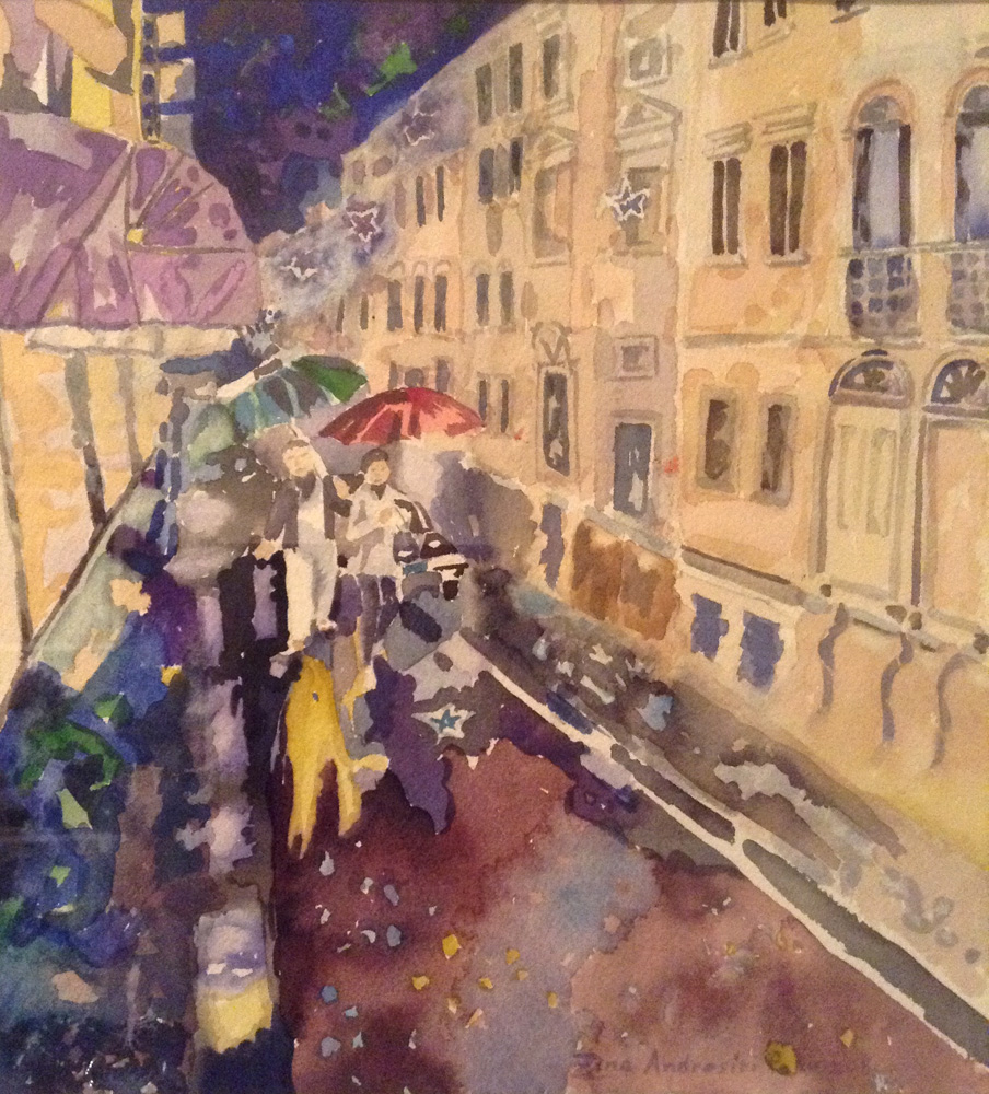 Italy in the Rain