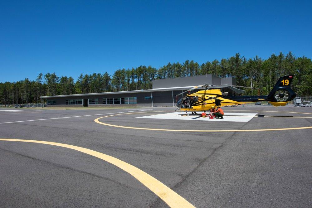 MNRF New Fire Management Facility Haliburton