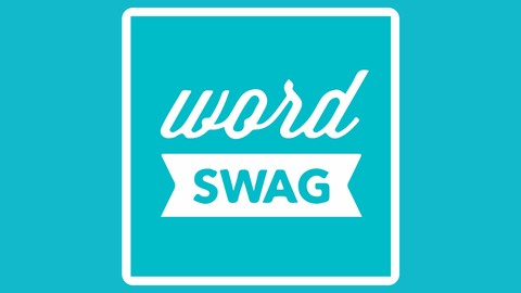 Word Swag - Word Swag is the quick and dirty app for creating beautiful word images on the fly. You can create any sized image for any platform with beautiful predeveloped fonts and layouts.It is wonderful for the on-the-go person, that wants to make things neat and professional looking without spending the time to do it.This is the anyone app, the user friendly ability is the best thing about it.