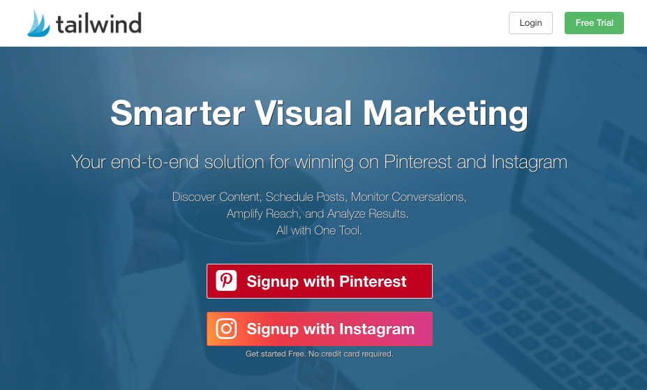Tailwind - If Pinterest is one of the platforms you need to pay expert attention to, Tailwind will be your best friend.It is the industry go to for planning and scheduling the automation of your Pinterest strategy.In the name of engagement, it also has a groups function called
