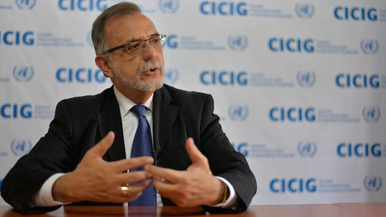 The Secretary-General appointed Iván Velásquez of Colombia as CICIG Commissioner Source: CICIG.com