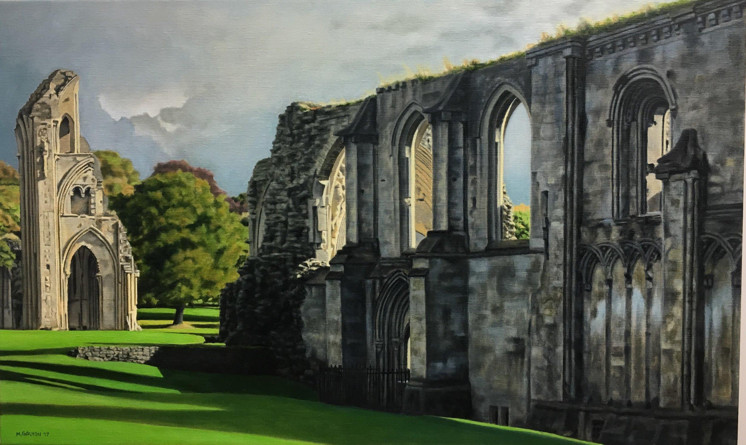 Glastonbury Abbey Ruins, England