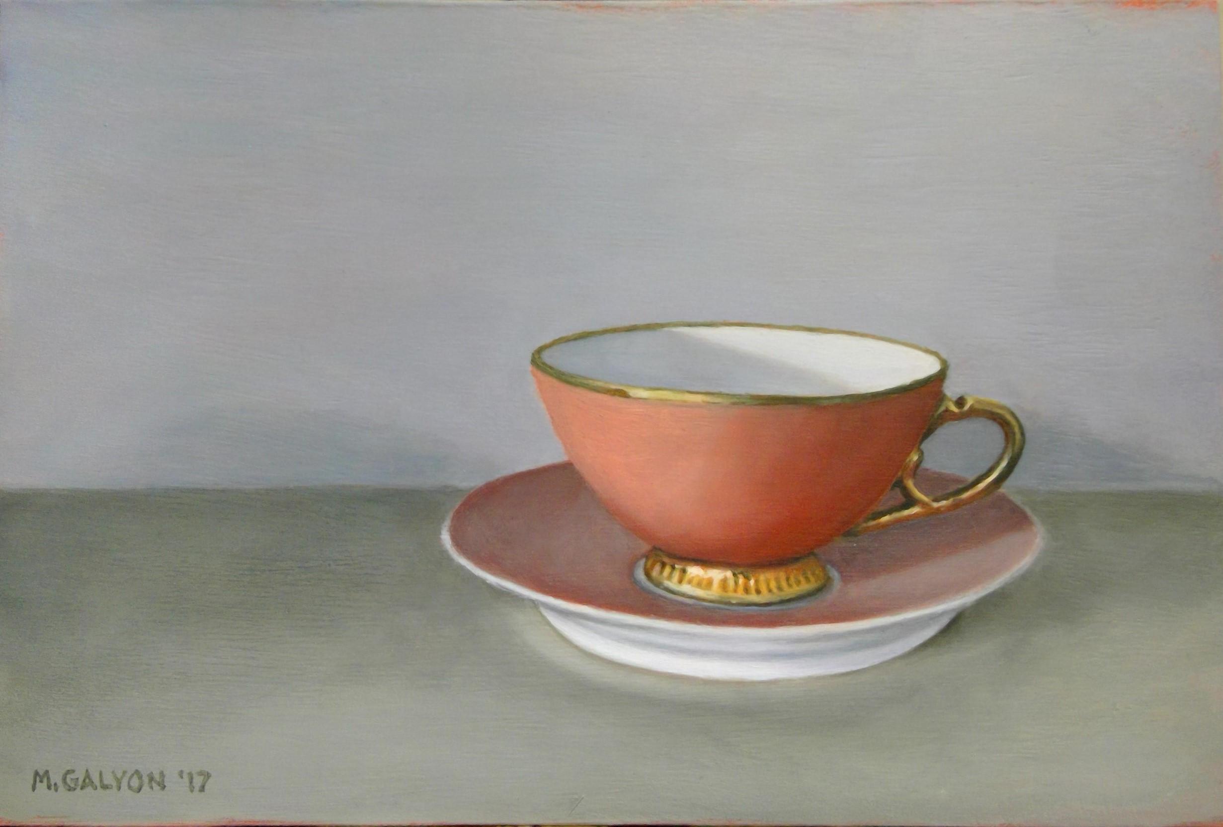 Coral Teacup