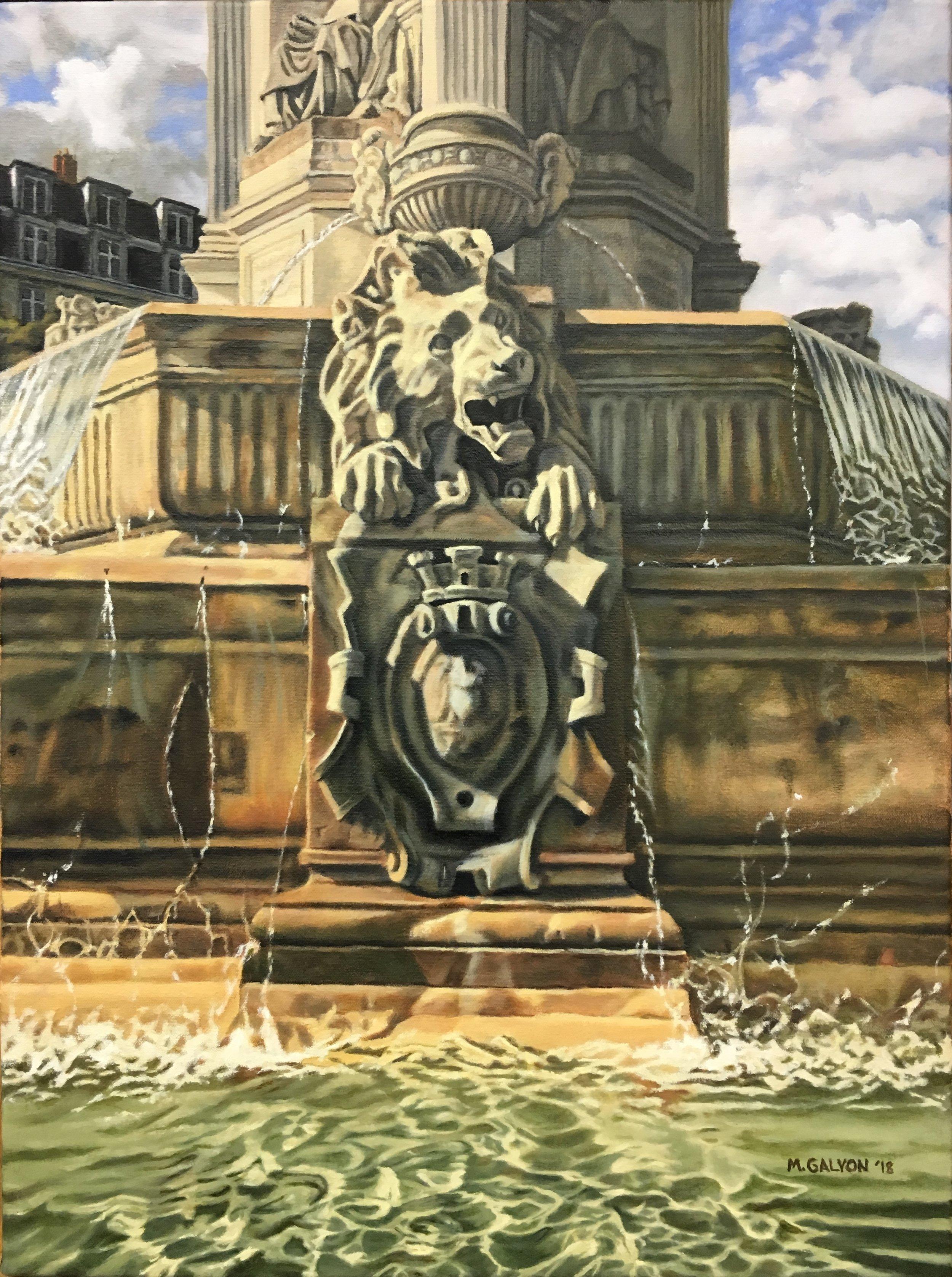 Fontaine St. Sulpice, Paris